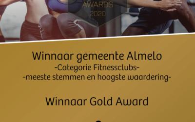 4 Dutch Fitness Awards gewonnen