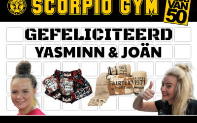 YASMINN & JOÄN winnaars Club van 50